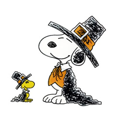 Snoopy Woodstock Thanksgiving Day